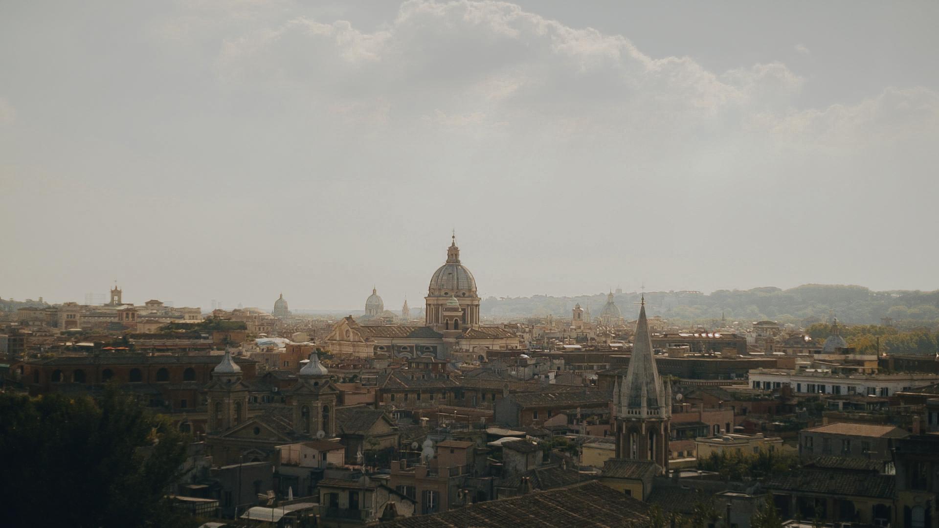 Family Portrait in Rome