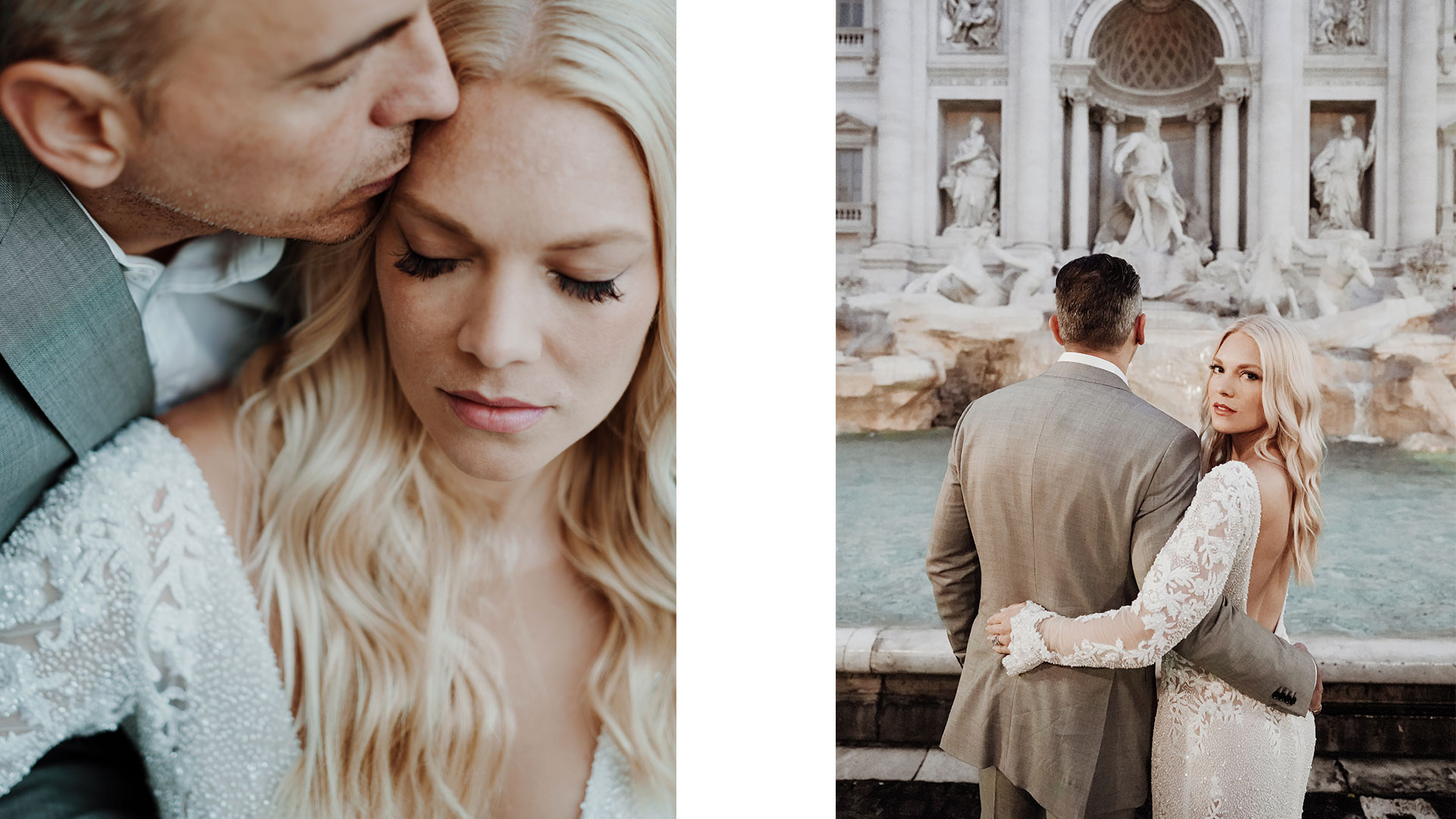 Elopement Wedding Fontana di Trevi