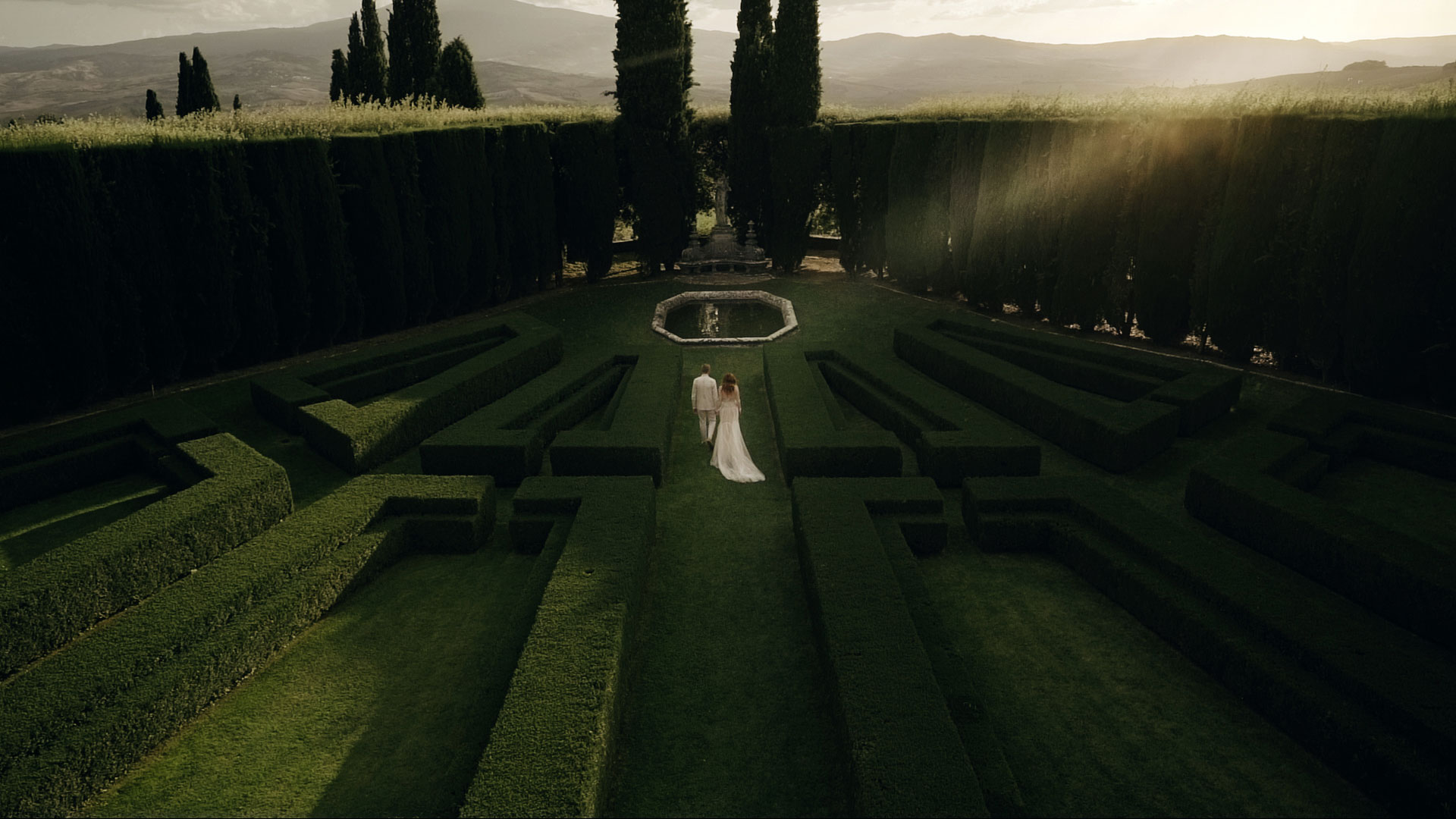 Destination Wedding La Foce Tuscany