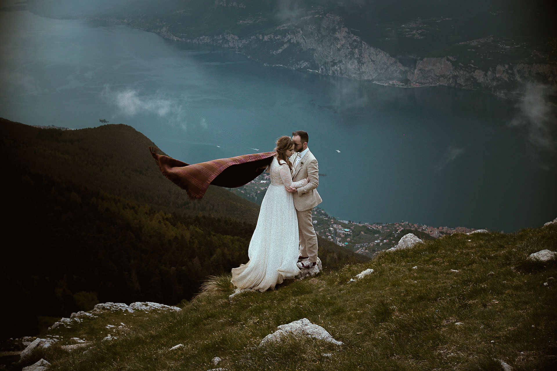 Destination wedding Italian Alps